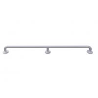 Gerader Seitenwandgriff für Senioren weiß (mit Abdeckrosetten) fi32 120 cm