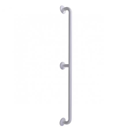 gerader Seitenwandgriff weiß (mit Abdeckrosetten) fi32  160 cm