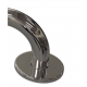 gerader Seitenwandgriff Edelstahl (mit Abdeckrosetten) fi32  70 cm