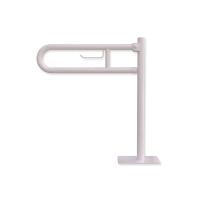 WC-Klappgriff zur Bodenmonage mit Papierhalter weiß fi32  60 cm
