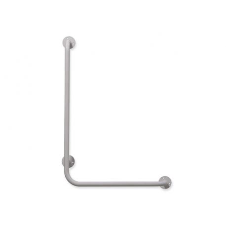 Winkelgriffe links montiert weiß fi25  100cm/60cm
