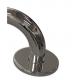Winkelgriffe links montiert Edelstahl (mit Abdeckrosetten) fi32  70cm/50cm