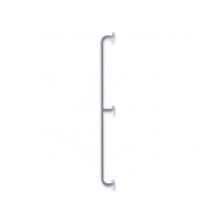 gerader Seitenwandgriff weiß fi25  170 cm